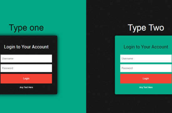 Simple html Bootstrap login form